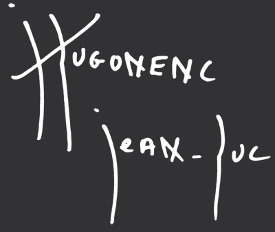 Artiste contemporain : Hugonenc